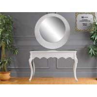 Buy cheap Dresser Modern Console Table With Wall Mirror , Eco Friendly Console Table And Mirror Set from wholesalers