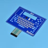 Wholesale Simple color /Button raised and Large size control membrane switch from china suppliers