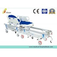 Wholesale Alloy Aluminum Hospital Stretcher Trolley, Transfer Cart With Central Controlled Braking System ALS-ST009 from china suppliers