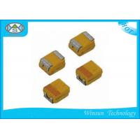 Wholesale Small Size Case P SMD Tantalum Capacitor High Stability With Automatic Place Equipment from china suppliers