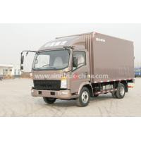 Wholesale 4x2 Euroii Howo 7000kg Refrigerated Box TruckWith Yunnei Engine And 6 Triangle Tire from china suppliers