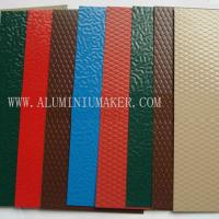 Wholesale color embossed aluminum sheet from china suppliers