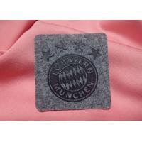 Quality Raised Effect High Density Custom Clothing Patches Screen Printed Heat Transfers Label For Fabric for sale