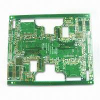 Wholesale HDI Multilayer PCB with 0.12/0.12mm Minimum Thickness and 0.25mm PTH from china suppliers