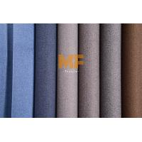 Wholesale Velboa Gorgeous Multi Colored Upholstery Fabric Faux Linen Two Tone Effect from china suppliers