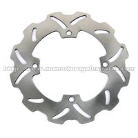 Wholesale Solid Rear Steel Motorcycle Brake Disc Rotor With Heat Treatment Processing from china suppliers