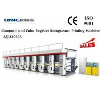 Wholesale 1 - 8 Color Zero Tension Control Gravure Printing Machinery Steady Output from china suppliers