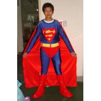 Wholesale  handmade traditional superman adult mascot costume for male from china suppliers