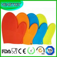 Wholesale Amazon Heat Resist bbq Grilling BBQ Silicone Gloves/Oven Gloves for Cooking , Baking from china suppliers