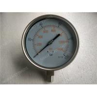 Buy cheap 6 Inch All Stainless Steel Liquid Filled Pressure Gauge with Shrink Bezel from wholesalers