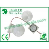 Wholesale White Round Programmable Led Lights Diamater 50mm With 6 Pixels from china suppliers