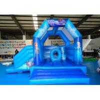 Wholesale Inflatable Open Air Frozen Jumping Castle / Cartoon Bouncy Castle from china suppliers
