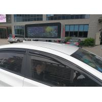 Wholesale Taxi Top LED advertising display with digital LED Panels in New York City from china suppliers