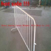 Wholesale galvanized iron crowd control barrier temporary fencing from china suppliers