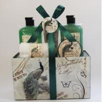 Paper Box Bar Sets Bath Gift Set Bath gel and bubble bath fuels the soul, keeping the body and spirit in balance.