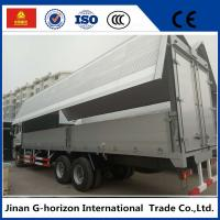Wholesale sinotruk howo 10 wheelers 336hp side open wingvan cargo truck from china suppliers