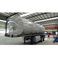 Wholesale CIMC tandem axles 42000 liters fuel tanker trailer with bogie suspension from china suppliers
