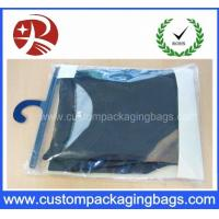 Wholesale Color Printing Soft Pvc Packaging Bags With Plastic Hanger For Underwear Clothing from china suppliers