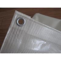 Wholesale clear vinyl coated tarps,Transparent mesh tarpaulin from china suppliers