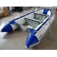 Wholesale 12 Feet Fishing Inflatable Yacht Tenders Aluminum Floor Inflatable Boat 5 Person from china suppliers