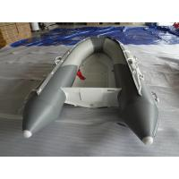 Wholesale Unique Deep V Bottom Fiberglass Hull Aluminum RIB Boat With Wood Bench Seat from china suppliers