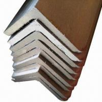 Wholesale Stainless Steel Angle Bars with 6m/Random Length, Customized Specifications are Accepted from china suppliers
