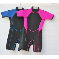 Wholesale Neoprene Surf Suit in 3mm SBR Material Laminate Black / Tan polyester for Boys and Girls from china suppliers