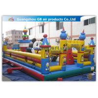 Wholesale Funny Giant Inflatable Amusement Park Happy Family Bouncy House from china suppliers