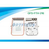 Quality Outdoor 16 ports Fiber Termination Box SC Adapter FTTH Access Network for sale