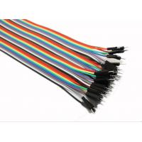 Wholesale Male To Male Jumper Wires Breadboard And Wire Kit Green Black Yellow White Blue from china suppliers