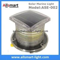 Wholesale 15LED Solar Marine Aquaculture Lights ASE-002 Buoys Navigation Hazard Warning Lights Flash Steady Type Solar Dock Light from china suppliers