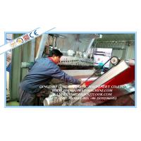 Quality Plastic PVC Carpet Manufacturing Machine / PVC Coil Carpet Roll Producing Plant for sale