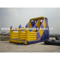 Wholesale Hot Sale Inflatable Dry Slide With Arch Doors For Chidlren Park Outdoor Games from china suppliers