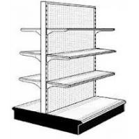Wholesale Easily Assembly Multipurpose Back Net Double - Side Metallic Retail Display Racks from china suppliers