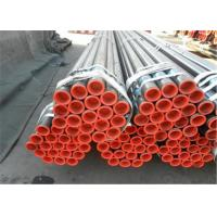 Quality Metal steel seamless pipes astm a106 for fliud transportation &structure& fire hose for sale