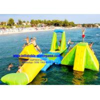 Wholesale Custom Huge Adults / Kids Inflatable Water Park 0.9Mm PVC Tarpaulin Material from china suppliers