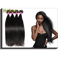 Wholesale Unprocessed Brazilian Virgin Human Hair Extensions Straight Human Hair Weave Color 1B from china suppliers