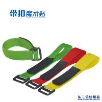 Wholesale Customized Size Adjustable Hook And Loop Fastener Straps With Plastic Buckle from china suppliers