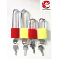 Quality ZC-G61 Safety Aluminum Padlock, Normal Stainless Shackle for sale