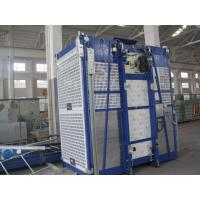 Wholesale 100m Single Cage Construction Hoist , Steel Galvanized Material from china suppliers