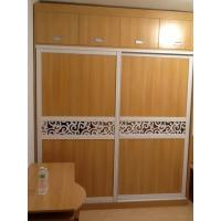 Wholesale Contemporary Sliding Mirror Door Wardrobe Closet Furniture Cabinet Moistureproof from china suppliers