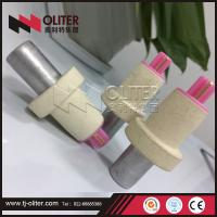 Buy cheap made in China disposable thermocouple with 604 triangle head used for steel mill from wholesalers