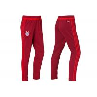 Wholesale Bayern Munich Red Warm Up Soccer Pants Men's Dry Fit Training Long Pants Trousers from china suppliers