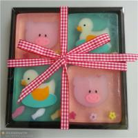Wholesale 2013 Popular cartoon soap gift ,rose shape gift soapgift fancy bamboo charcoal soap/chri from china suppliers