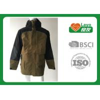 Wholesale Multi Function Waterproof Breathable Rain Jacket / Coat Grey Color from china suppliers