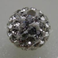 Buy cheap Good Quality Crystal Clay Shamballa Pave Beads from wholesalers