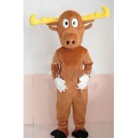 Wholesale Custom Adults Brown Reindeer Animal Mascot Costume  from china suppliers