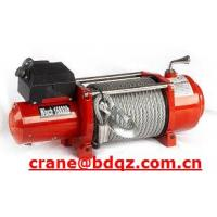 Wholesale 0.5ton~10ton high speed electric winch with wire rope from china suppliers