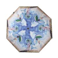 Wholesale Ladies High quality 3-fold full color print fashion umbrella from china suppliers