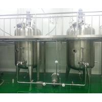 Wholesale Electric Heating Stainless Steel Mixing Tanks For Tomato Sauce , Doble Sided from china suppliers
